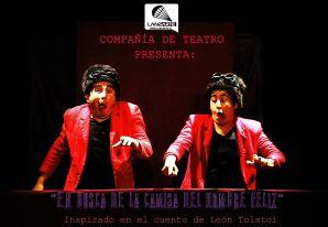 """""""En busca de la camisa del hombre feliz"""" celebra Día Nacional del Teatro en Viña del Mar"""
