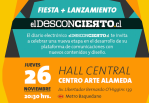 Fiesta de lanzamiento de elDesconcierto.cl
