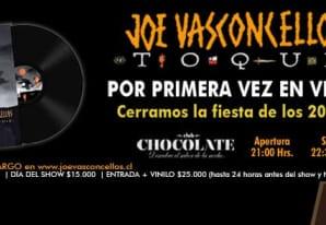 Joe Vasconcellos en Club Chocolate