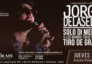 Jorge Delaselva en Club Chocolate