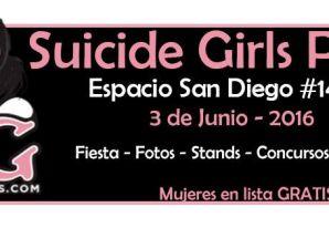 Suicide Girls Party en Espacio San Diego
