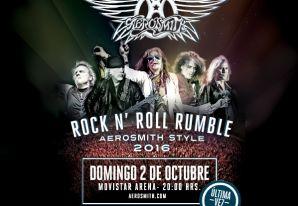 Aerosmith en Chile