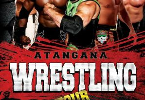 Atangana Wrestling Tour Santiago
