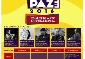 """Festival Chile Jazz por la Paz 2016"""