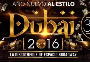 Fiesta Año Nuevo Estilo Dubai 2016