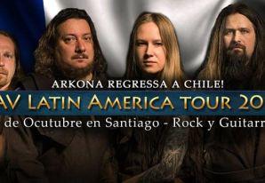 Arkona vuelve a Santiago