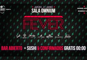 Noches Fever en Sala Omnium