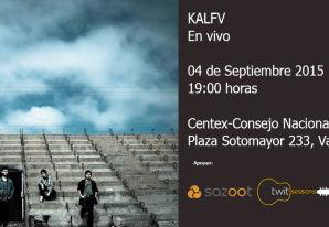 Kalfv en vivo - Centex CNCA - Valparaíso.