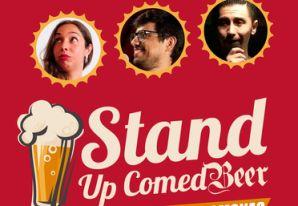 StandUp ComedBEER Connie, JunaMa y MrFeromonas en Gluck