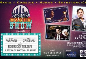 Show de Magia en Santiago Bar