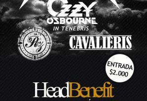 HeadBenefit : Tributos a Ozzy y metallica + bandas temas propios: Sr. Pez y Cavalieris