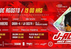 J Alvarez unico Concierto en Chile + Carlitos Rossy + Pancho & Castel desde Puerto Rico.