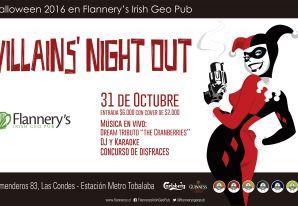 Halloween Villains Night Out / Halloween Flannery´s Irish Geo Pub