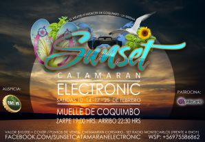 Sunset Catamaran Electronic, Coquimbo