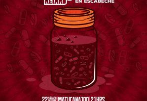 Akinetón Retard celebra 21 años junto a Solteronas en Escabeche