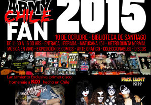 KISS Army Chile Fan Expo 2015