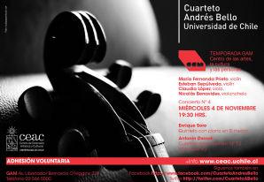Concierto Nº4 - Cuarteto Andres Bello