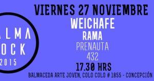 Weichafe, Rama, 432 y Prenauta en Concepción
