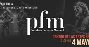 Premiata Forneria Marconi en Chile