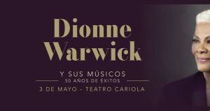 Dionne Warwick en Chile