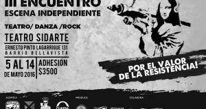 Escena Independiente en Teatro Sidarte