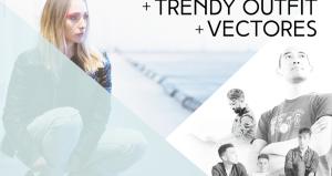 Andrea Velasco, Trendy Outfit y Vectores en Club Chocolate