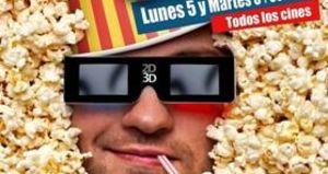 La Fiesta del Cine, lunes 5 y martes 6 de octubre