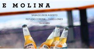 JŌSE MOLINA en vivo, Refugio Corona - Farellones