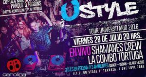 Ustyle tour universitario ★ Shamanes & La COMBO Tortuga ★