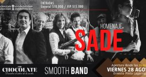 SMOOTH BAND HOMENAJE A SADE