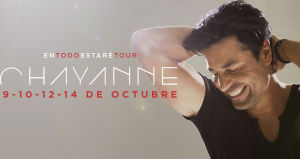 Chayanne en Chile, Movistar Arena