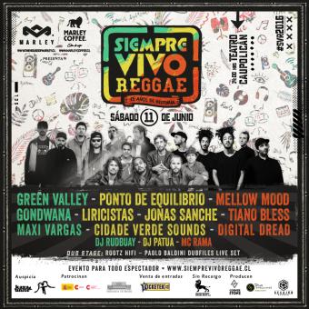 Festival Siempre Vivo Reggae 2016