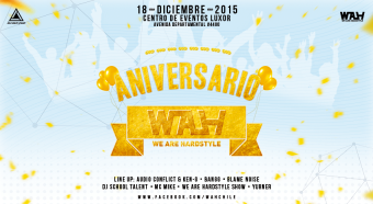 We Are Hardstyle Aniversario en Luxor