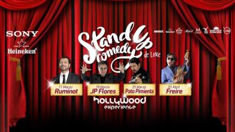 Ciclo Stand Up Comedy De Luxe en Hollywood Experience