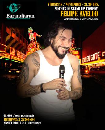 Café Concert de Felipe Avello en Barandiaran