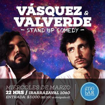 Vásquez & Valverde en Ático Bar Comedy Club