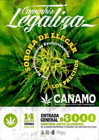 Cannabis Legaliza, Centro Arte Alameda