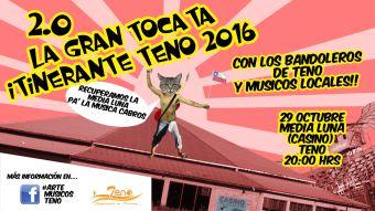 Tocata: Más de 9 artistas locales mostrando su música de distintos estilos