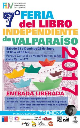 Tremens en Ferial del Libro Independiente Valparaiso