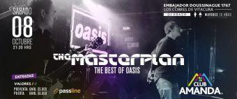 Masterplan Tributo a Oasis en Club Amanda