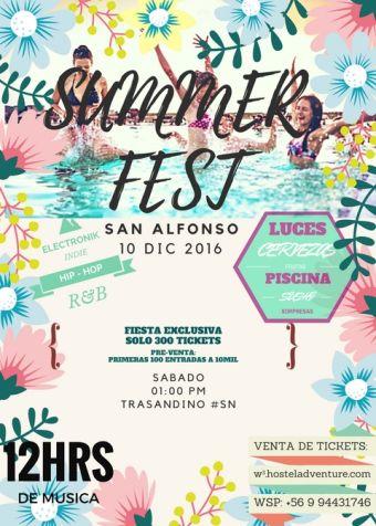 Summer Fest San Alfonso 2016