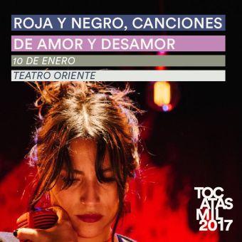 Roja y Negro ★ Santander ★ Tijoux ★ Durán