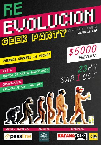 RE-EVOLUCION GEEK PARTY