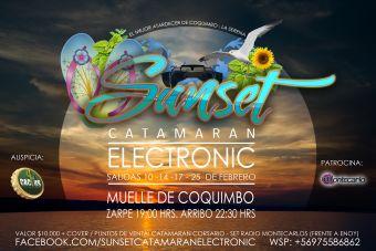 Sunset Catamaran Electronic, Coquimbo