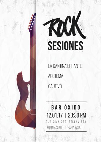 ROCK SESIONES