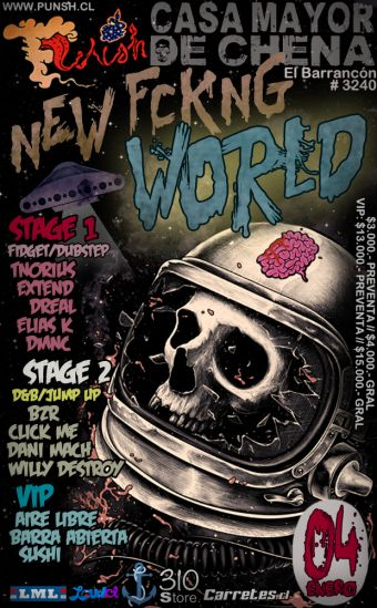 Punsh Presenta: NEW FCKNG WORLD