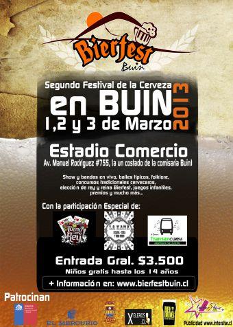 Bierfest Buin 2013