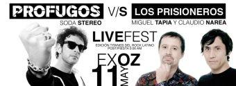 Profugos Tributo a Soda Stereo v/s Los Prisioneros (Narea-Tapia), Ex Oz