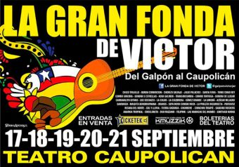 Fonda Galpón Victor Jara 2013, Teatro Caupolicán