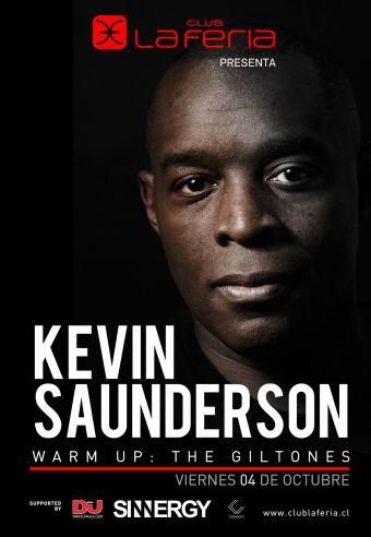 Kevin Saunderson en Chile, Club La Feria